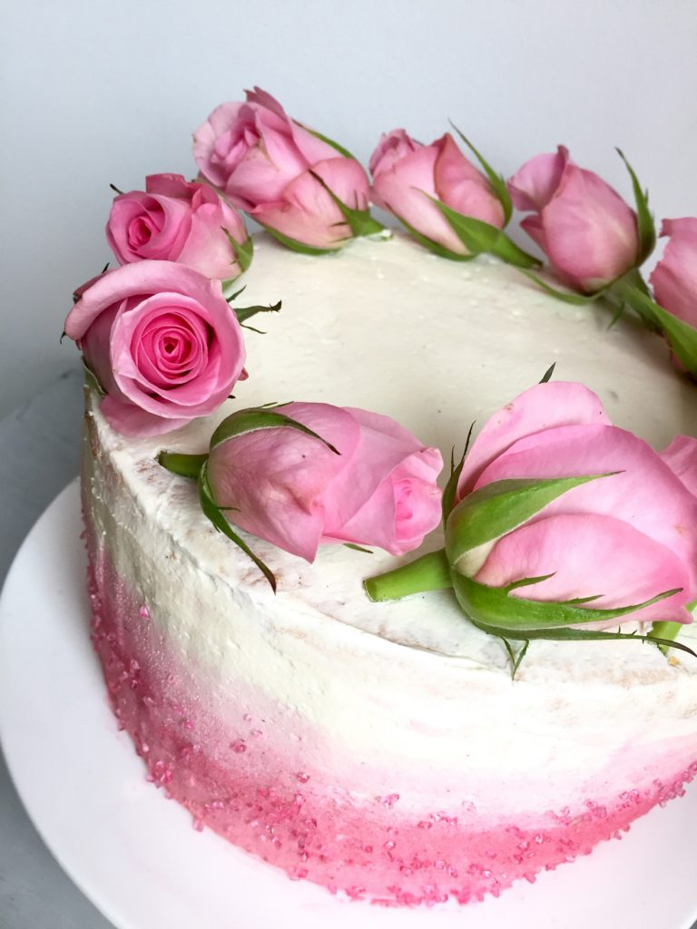 Pinke_erdbeertorte,Prinzessinnenkuchen